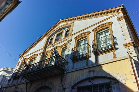 old town house: house in old town of Xanthi, East Macedonia and Thrace, Greece Stock Photo