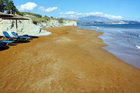 cefallonia: late afternoon on xsi beach, Kefalonia, Ionian Islands, Greece