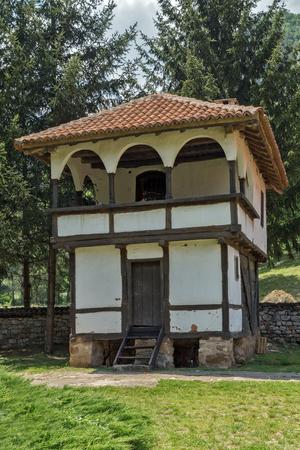 balkan peninsula: Old tower in Poganovo Monastery of St. John the Theologian, Serbia