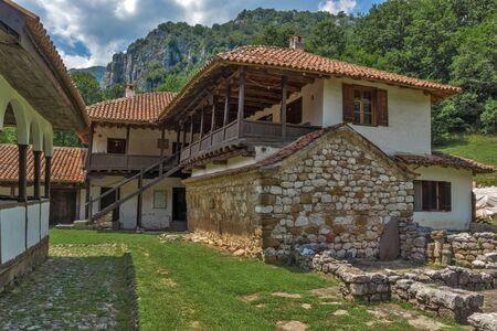 theologian: Medieval Buildings in Poganovo Monastery of St. John the Theologian, Serbia