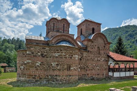balkan peninsula: Medieval church in Poganovo Monastery of St. John the Theologian and Balkan Mountain, Serbia