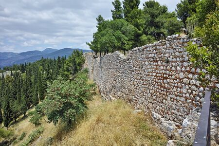 lamia: Wall on Central Greece