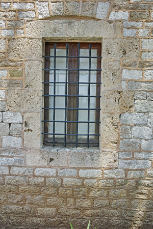 lamia: Medieval window in Central Greece