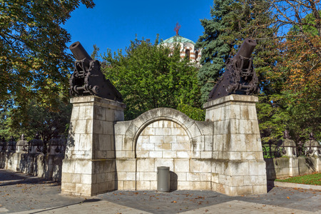 conqueror: St. George the Conqueror Chapel Mausoleum, City of Pleven, Bulgaria