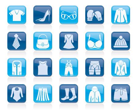 Ikonen Mode und Kleidung und Accessoires
