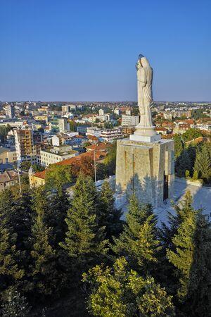 haskovo: The biggest Monument of Virgin Mary in the world, City of Haskovo, Bulgaria