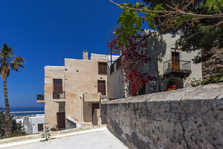 chora: Old town of Chora town, Naxos Island, Cyclades, Greece