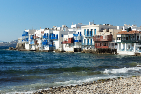 cyclades: Little Venice at Mykonos, Cyclades Islands, Greece