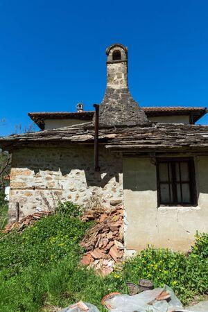 old  buildings: Old Buildings in Temski monastery St. George, Pirot Region, Republic of Serbia