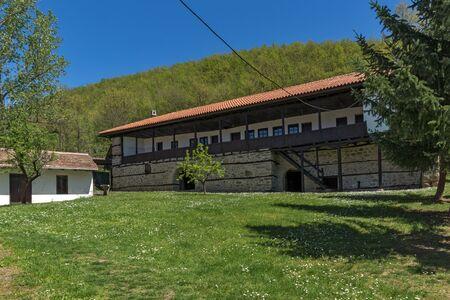 balkan peninsula: Building of the nineteenth century in Temski monastery St. George, Pirot Region, Republic of Serbia