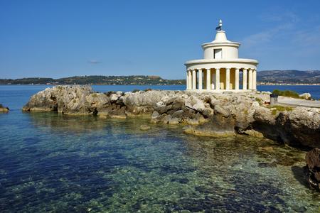 cefallonia: Amazing Landscape of Lighthouse of St. Theodore at Argostoli, Kefalonia, Ionian islands, Greece Stock Photo