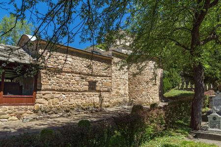 balkan peninsula: Red bricks of Church of Temski monastery St. George, Pirot Region, Republic of Serbia