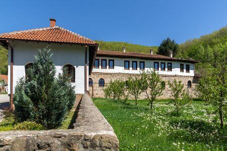balkan peninsula: Outside view Temski monastery St. George, Pirot Region, Republic of Serbia Stock Photo