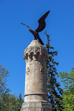 balkan peninsula: Monument to fallen soldiers during the Serbian-Ottoman War, age 1876–1877, town of Pirot, Republic of Serbia