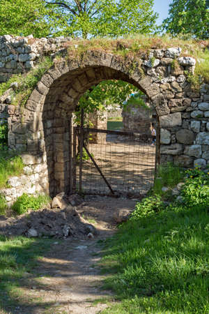 southeastern: Entrance and Southeastern walls of Pirot Fortress, Republic of Serbia