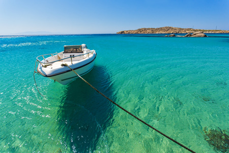 clear waters: Clear waters of Paranga Beach on the island of Mykonos, Cyclades, Greece