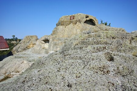 truncated: Ruins of Antique Thracian sanctuary Tatul, Kardzhali Region, Bulgaria