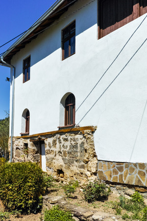 serbia landscape: Old building in Temski monastery St. George, Pirot Region, Republic of Serbia