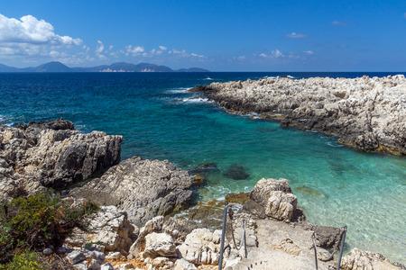 cefalonia: amazing view of Alaties Beach, Kefalonia, Ionian islands, Greece