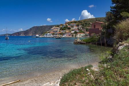 ionian: Assos village and beautiful sea bay, Kefalonia, Ionian islands, Greece