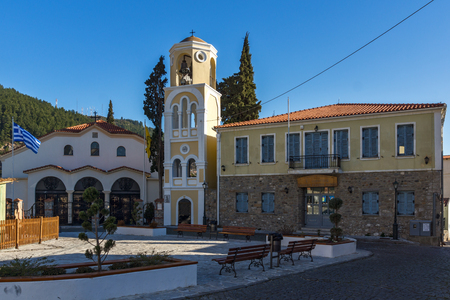 Church in old town of Xanthi, East Macedonia and Thrace, Greece Editorial