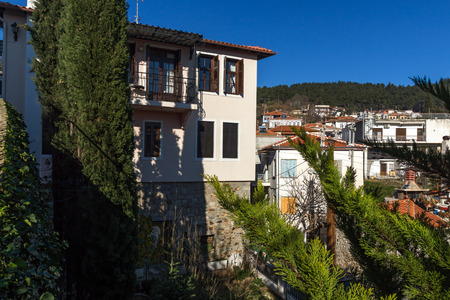 old town house: Amazing view of old town of Xanthi and old house, East Macedonia and Thrace, Greece Editorial