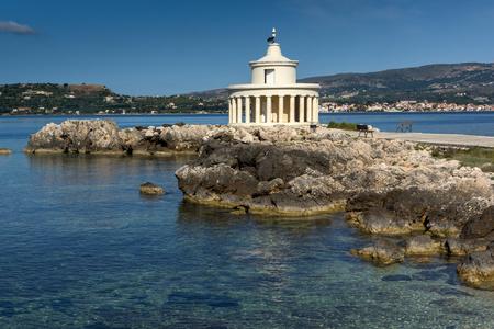 cefalonia: Lighthouse of St. Theodore at Argostoli,Kefalonia, Ionian islands, Greece Stock Photo