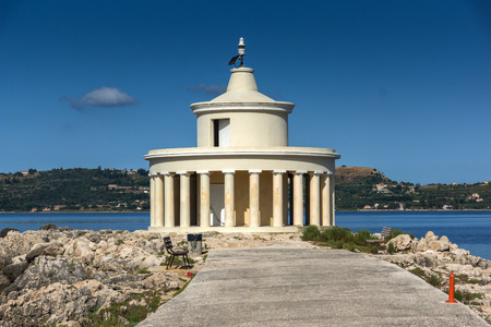 cefalonia: Amazing panorama around Lighthouse of St. Theodore at Argostoli,Kefalonia, Ionian islands, Greece
