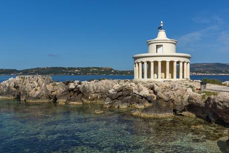 Seascape of Lighthouse of St. Theodore at Argostoli, Kefalonia, Ionian islands, Greece