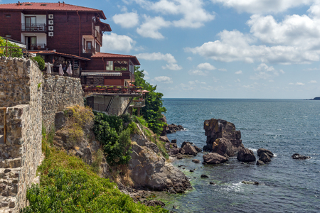 archeologist: Panoramic view of old town of Sozopol, Burgas Region, Bulgaria