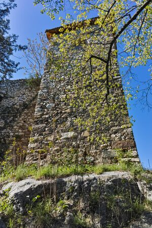 Tower and Outside view of Pirot Fortress, Republic of Serbia Editorial