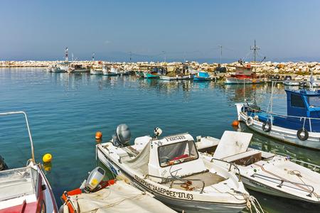 skala: Port of Skala Kallirachis, Thassos island, East Macedonia and Thrace, Greece
