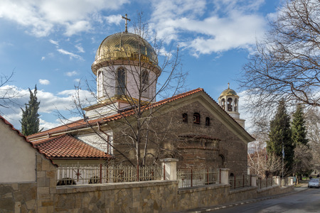 Panoramic view of The Fish Church, St. Mary the Annunciation, Asenovgrad,  Plovdiv Region, Bulgaria