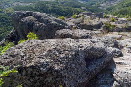 truncated: Tomb of Orpheus in Antique Thracian sanctuary Tatul, Kardzhali Region, Bulgaria