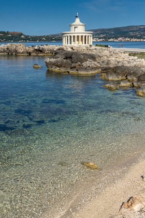 Amazing panorama around Lighthouse of St. Theodore at Argostoli,Kefalonia, Ionian islands, Greece