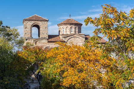 assen: Autumn view of Asens Fortress, Asenovgrad, Plovdiv Region, Bulgaria