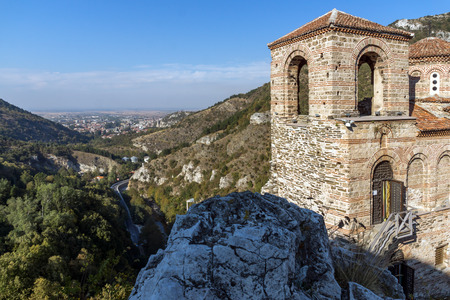 assen: Church of the Holy Mother of God in Asens Fortress and town of Asenovgrad, Plovdiv Region, Bulgaria