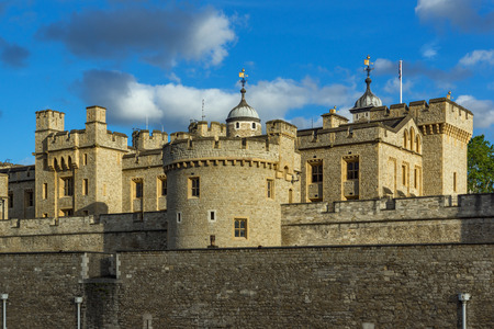 great britain: Historic Tower of London, England, Great Britain