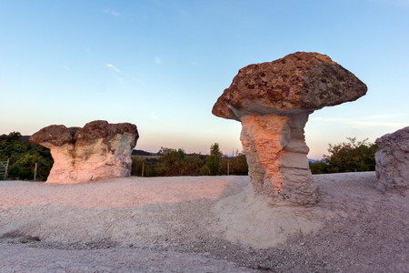 Prodigy: The Stone Mushrooms viewed from above near Beli plast village, Kardzhali Region, Bulgaria