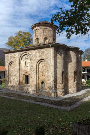 theologian: The 11th century church  in Zemen Monastery, Pernik Region, Bulgaria