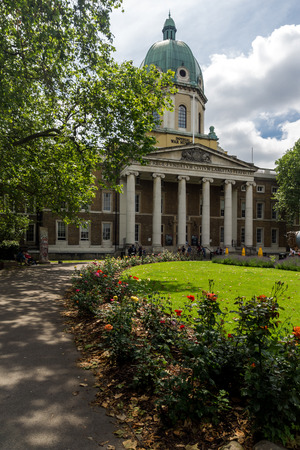 Amazing view of Imperial War Museum, London, England, United Kingdom