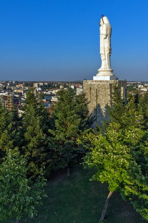 The biggest Monument of Virgin Mary in the world, City of Haskovo, Bulgaria