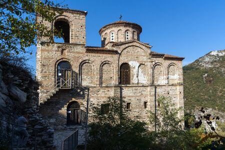 assen: Church of the Holy Mother of God in Asens Fortress, Asenovgrad, Plovdiv Region, Bulgaria