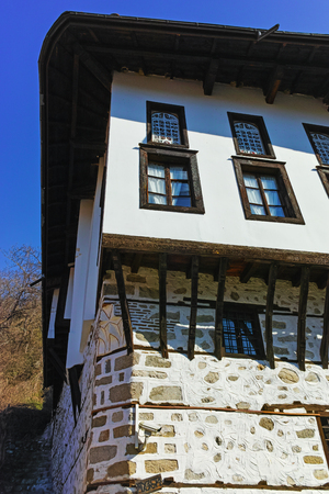 old town house: Stone street and old House in ancient Melnik town, Blagoevgrad region, Bulgaria