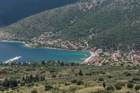 Panorama of Agia Effimia town, Kefalonia, Ionian islands, Greece