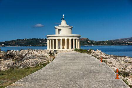 Amazing Seascape of Lighthouse of St. Theodore at Argostoli,Kefalonia, Ionian islands, Greece