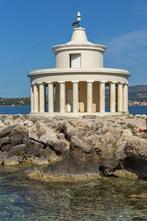 Seascape of Lighthouse of St. Theodore at Argostoli,Kefalonia, Ionian islands, Greece