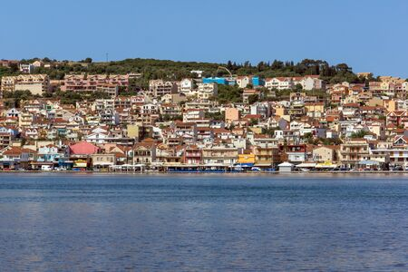 cefallonia: Panoramic view of Argostoli town, Kefalonia, Ionian islands, Greece