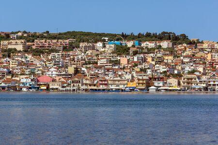 cefalonia: Panoramic view of Argostoli town, Kefalonia, Ionian islands, Greece