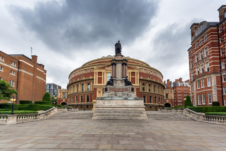 LONDON, ENGLAND - JUNE 18 2016: Amazing view of Royal Albert Hall, London, Great Britain Editorial